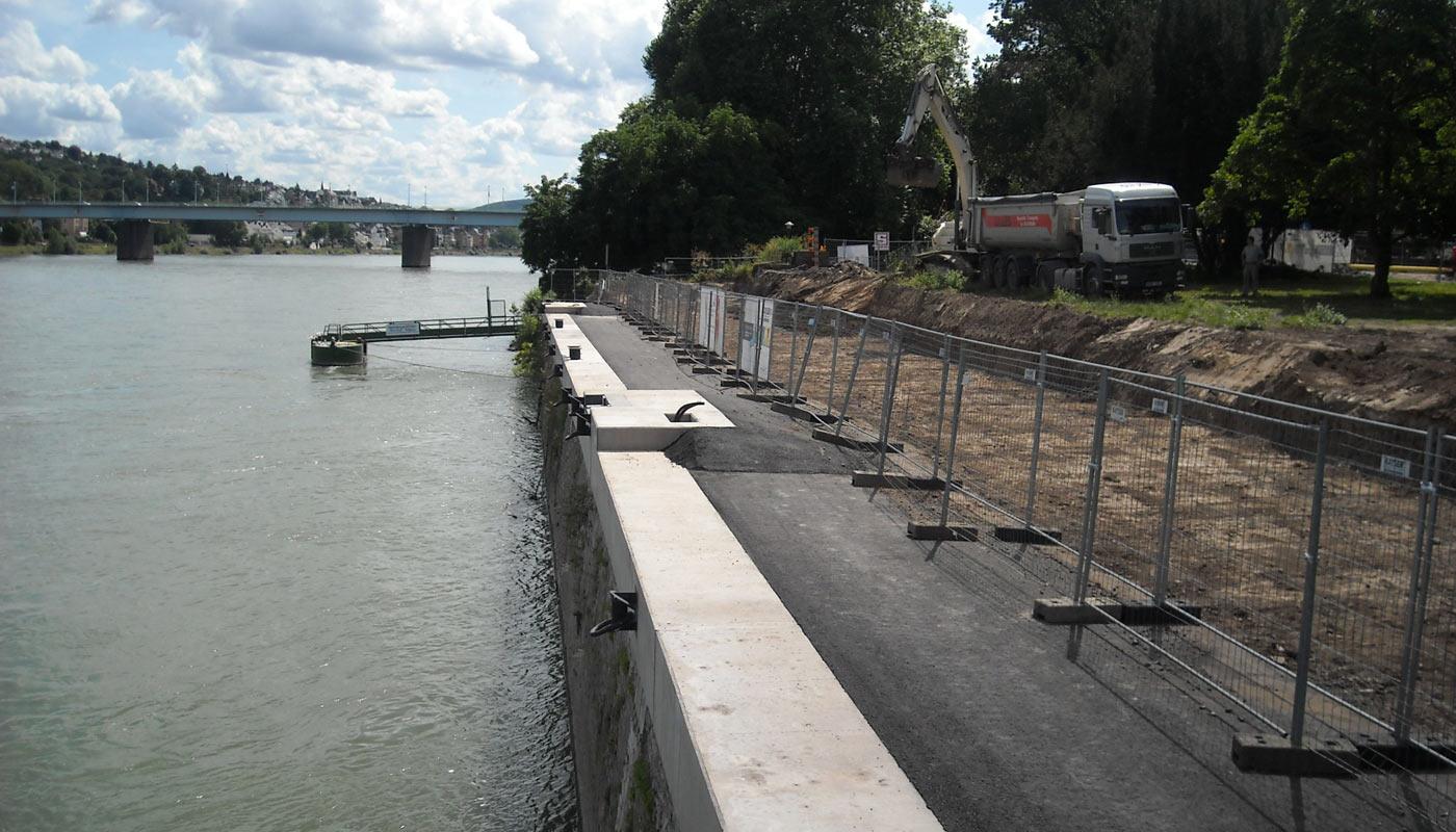 Ufermauersanierung Konrad Adenauer Ufer_1